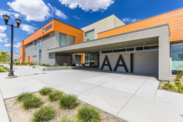 Commercial real estate photography of American Academy Innovation in South Jordan