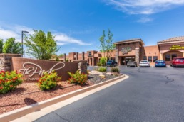 Commercial real estate photography of St. George commercial building