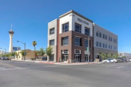 Commercial real estate photography of building in Las Vegas