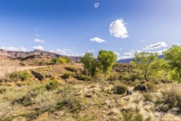 Real estate photography of land in the St. George area