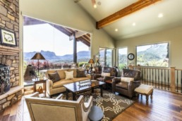 Real estate photography of a luxury home in St. George
