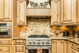Real estate photography of the kitchen in a St. George home