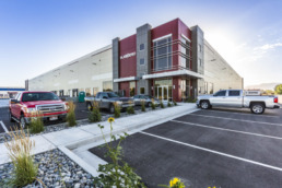 Real estate photography of commercial building