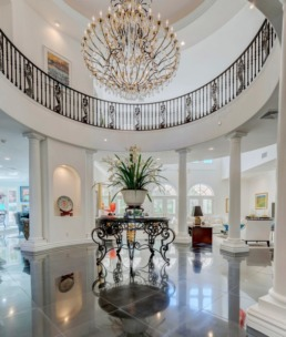 Real estate photography of a luxury home in Las Vegas