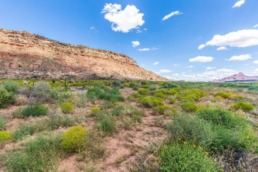 Commercial real estate photography of land in St. George area
