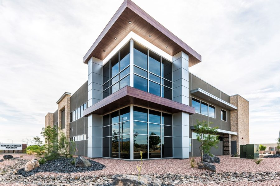 Commercial real estate photography of Taylor Andrews in St. George