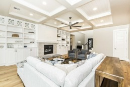Real estate photography of residential home