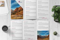 Real Estate graphic design brochures, business cards, postcards, etc..