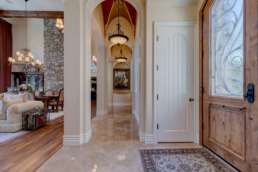 Real estate photography of a luxury home in Henderson, Nevada