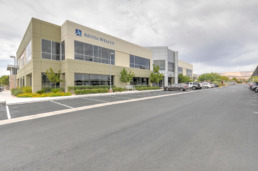 Commercial real estate photography of Las Vegas building