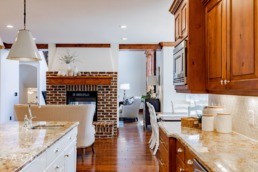 Real estate photography of the kitchen in a Salt Lake City home